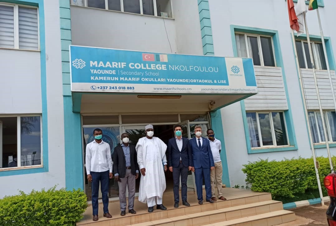 Visit from Cameroonian Minister of Finance Yaouba to Maarif Schools