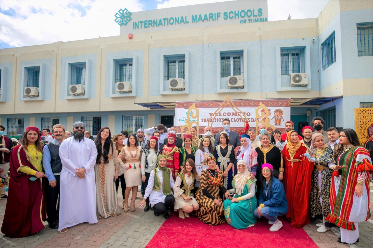 A cultural event organized in Maarif Schools of Tunisia
